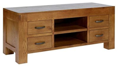 Buy Rustic Grange Santana Rustic Oak Tv Stand For Up To 50 Inch Tvs