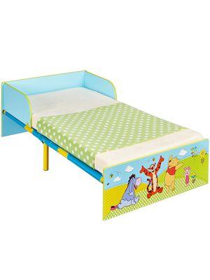 Winnie the Pooh Toddler Bed & Foam Mattress
