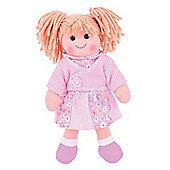 Bigjigs Toys Abigail 34cm Doll