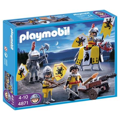 Playmobil Lion Knights Troop 4871