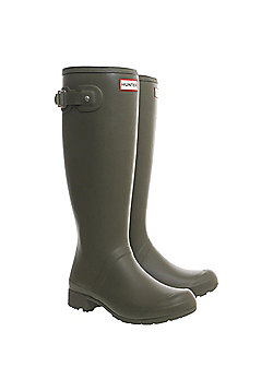 Hunter Womens Original Tour Wellies - Olive - Olive green