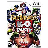 FaceBreaker KO Party - NintendoWii