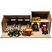 Farming - 1: 32 Cattle And Machinery Shed - Kids Globe