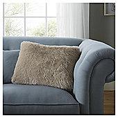 Fox & Ivy Fawn Faux Fur Cushion