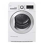 LG RC9055AP2F Heat Pump Tumble Dryer 9kg load A++ energy rating White