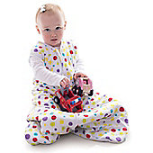 Snoozebag Baby Sleeping Bag 0-6 Months Spots 1.0 tog