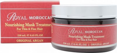 Royal Moroccan Nourishing Mask Treatment 250ml - Thin & Fine Hair