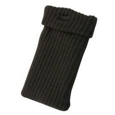 "Tortoise""™ Universal Knitted Sock Black"