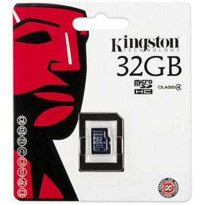 Kingston microSDHC 32GB Class 4 Card