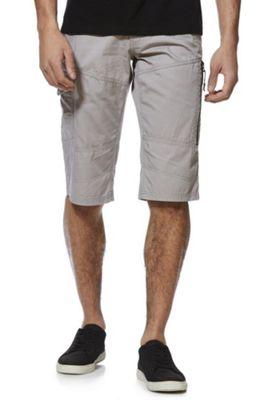 F&F Cargo Shorts with Belt Grey 40 Waist
