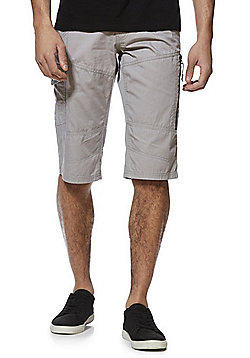 F&F Cargo Shorts with Belt - Grey
