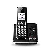 Panasonic KX-TGD320E DECT Caller ID Black Silver