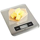 VonShef LCD Kitchen Scale - Stainless Steel
