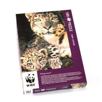 Snow Leopard - 500pc Puzzle