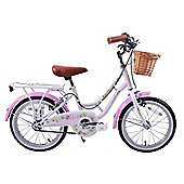 "Ammaco Haze 16"" Wheel Dutch Style Bike & Basket"