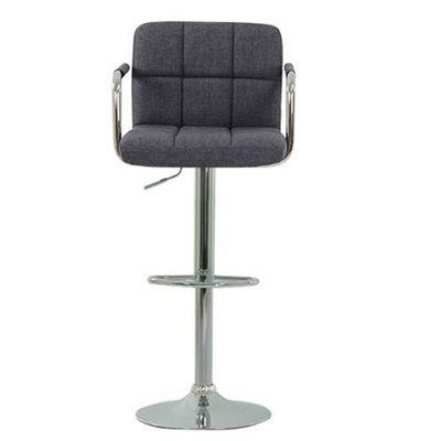 havana charcoal fabric bar stool