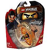 LEGO  Cole - Spinjitzu Master 70637