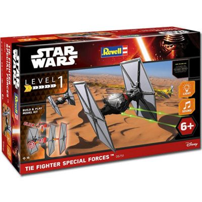 REVELL Star Wars First Order Special Forces Tie Fighter Snap Build & Play - 06751