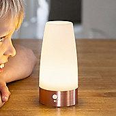 Round Battery Motion Sensor LED Table Lamp