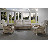 Desser Milan 3 Seater Sofa and 2 Chairs Conservatory Furniture Set