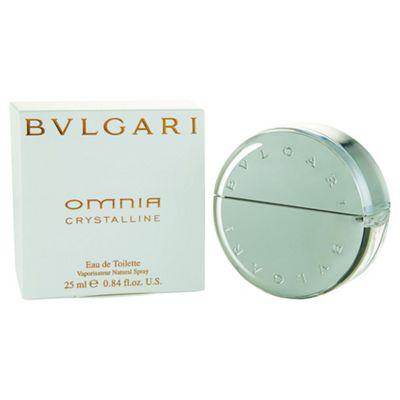 Bvlgari Omnia Crystalline Eau De Toilette 25ml Spray