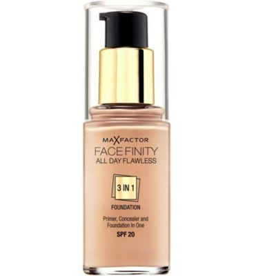 Max Factor Facefinity 3 in 1 Foundation 30ml Natural (50)