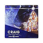 Star Wars Personalised 40th Anniversary Coaster