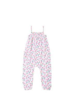F&F Flamingo Print Jumpsuit Multi 18-24 months