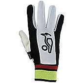 Kookaburra Padded Gloves Chamois Wicket Keeping Inners Gloves Youths