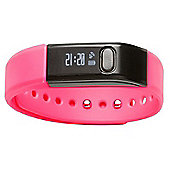 Denver BFA-10C Pink Bluetooth Fitness Tracker Band Watch