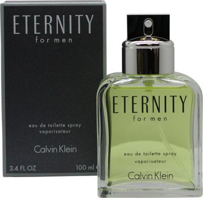 Calvin Klein Eternity Eau de Toilette (EDT) 100ml Spray For Men