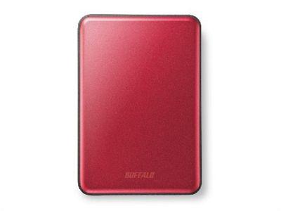Buffalo MiniStation Slim 1000GB Red external hard drive