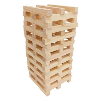 Outdoor Tower Tumbling Block Game by Premier