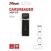 Trust NANGA USB Black card reader