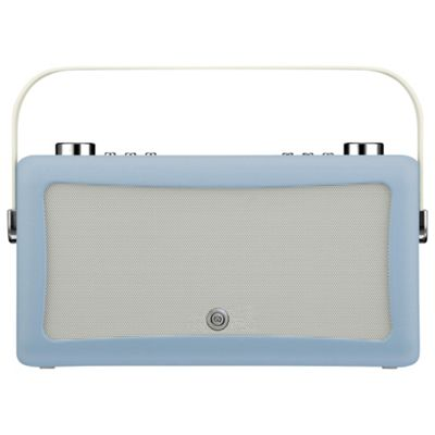 VQ Hepburn MKII DAB Radio & Bluetooth Speaker, blue