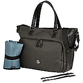 OiOi Tote Nappy Change Bag - Charcoal Utility (7011)