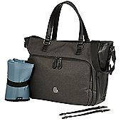 OiOi Tote Nappy Change Bag - Charcoal Utility (7011)