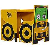 JCB themed desk and chair