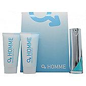 Laurelle Homme Gift Set 100ml EDT + 175ml Body Wash + 175ml Body Lotion For Men