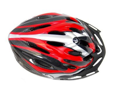 Coyote Sierra Dial Fit Adult Cycling Helmet Red Large