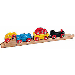 Car Transporter Train For Wooden Railway Train Set 50825 - Brio Compatible