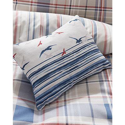 Dreams n Drapes Rathmoore Blue Cushion Cover - 28x38cm