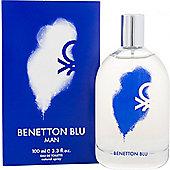 Benetton Blu Man Eau de Toilette (EDT) 100ml Spray For Men