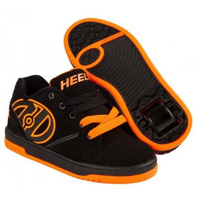Heelys Propel 2.0 - Black/Orange - Size - UK 5
