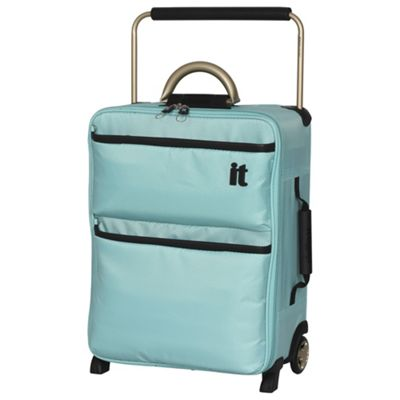 Buy IT Luggage World's Lightest 2-Wheel Suitcase, Turquoise Small ...