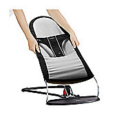 BabyBjorn Fabric Seat For Babysitter Balance (Black/Silver)
