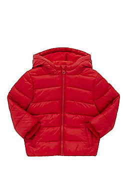 F&F Shower Resistant Padded Coat - Red