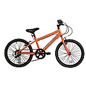 Falcon Boy's Jetstream Rigid Mountain Bike - Orange/Black, 20-Inch