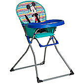 Hauck Disney Mac Baby Highchair (Mickey Geo Blue)