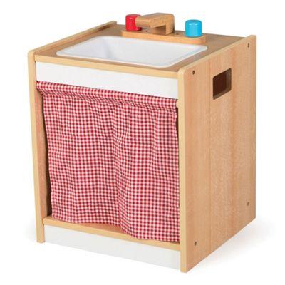 Tidlo Wooden Toddler Sink - Pretend Play